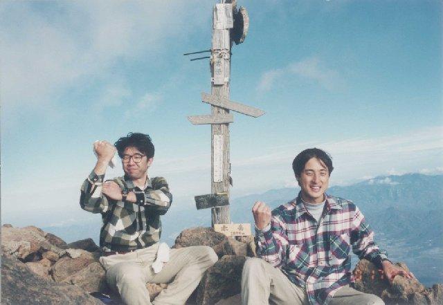 10月17日 八ヶ岳 山頂