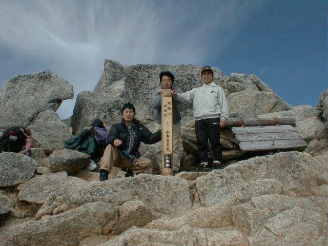 5月29日 鳳凰山 山頂
