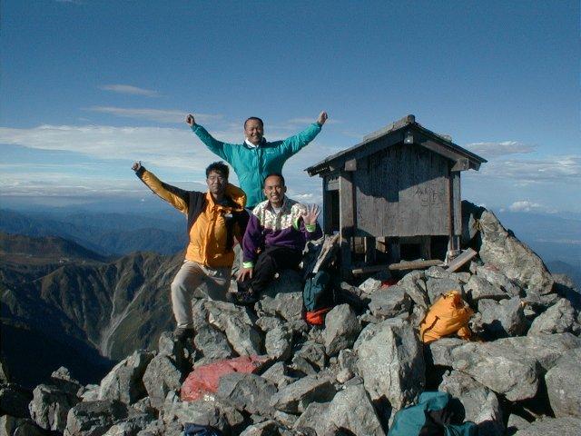 9月24日 剱岳 山頂