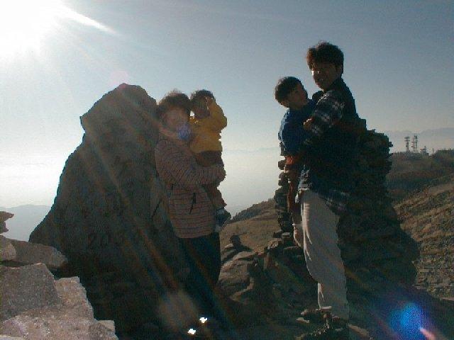 10月27日 美ヶ原(王ガ頭) 山頂