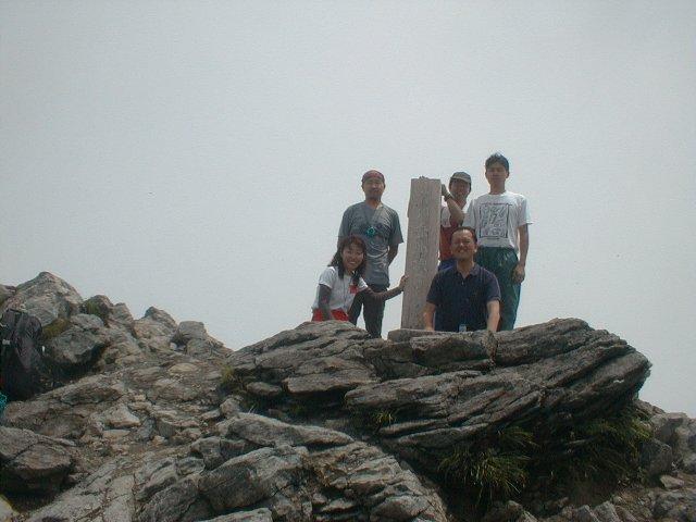 6月16日 谷川岳(トマノ耳) 山頂
