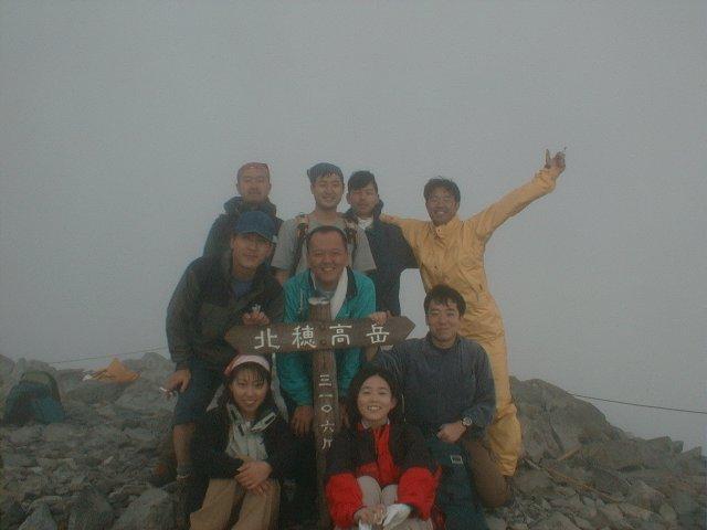 7月28日 北穂高岳 山頂