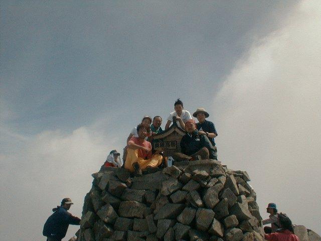 7月28日 奥穂高岳 山頂