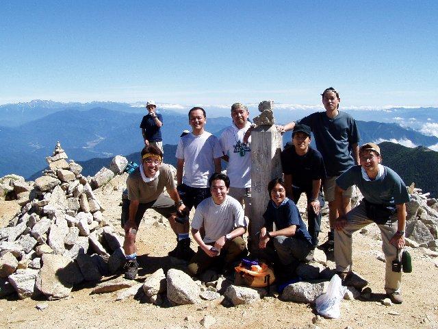 7月26日 木曽駒ヶ岳 山頂