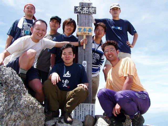 7月27日 空木岳 山頂