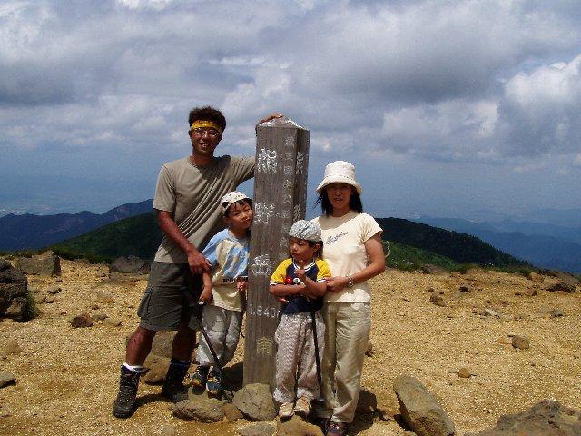 8月9日 蔵王山 山頂