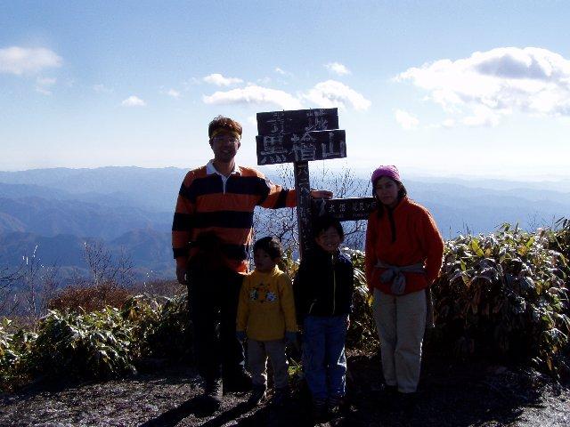 11月4日 赤城山 山頂
