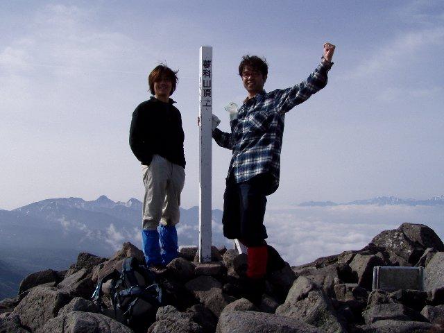 5月17日 蓼科山 山頂