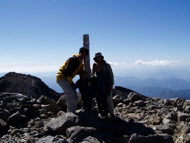 10月18日 乗鞍岳 山頂