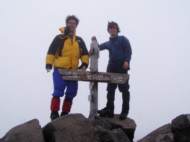 5月3日 奥白根山 山頂