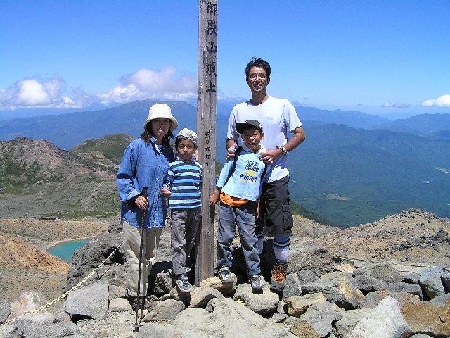 8月2日 御嶽 山頂