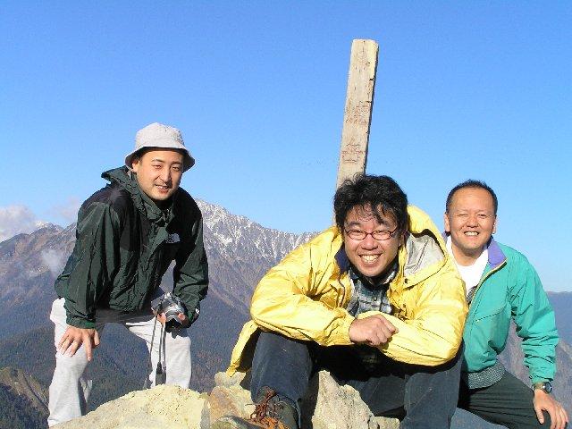 10月29日 焼岳 山頂
