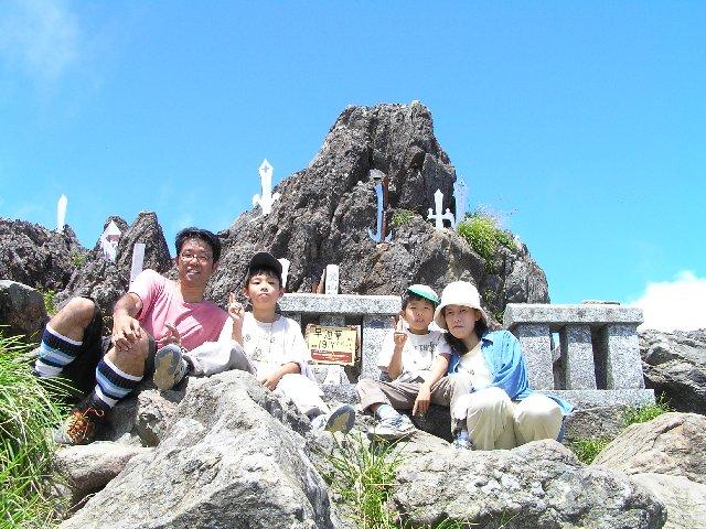 8月11日 早池峰山 山頂