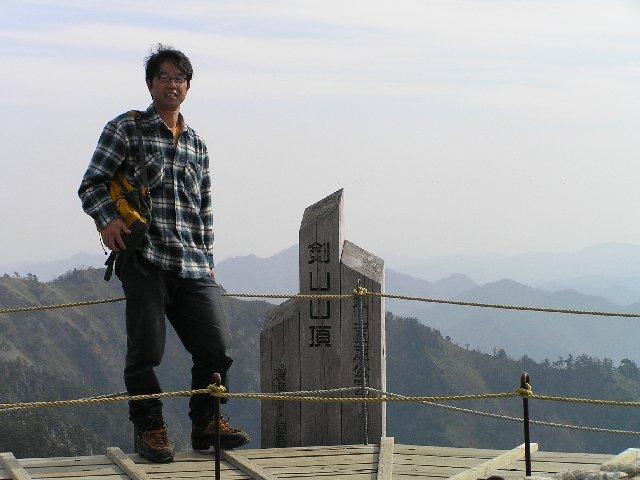 11月13日 剣山 山頂