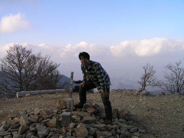 11月22日 大台ヶ原山 山頂