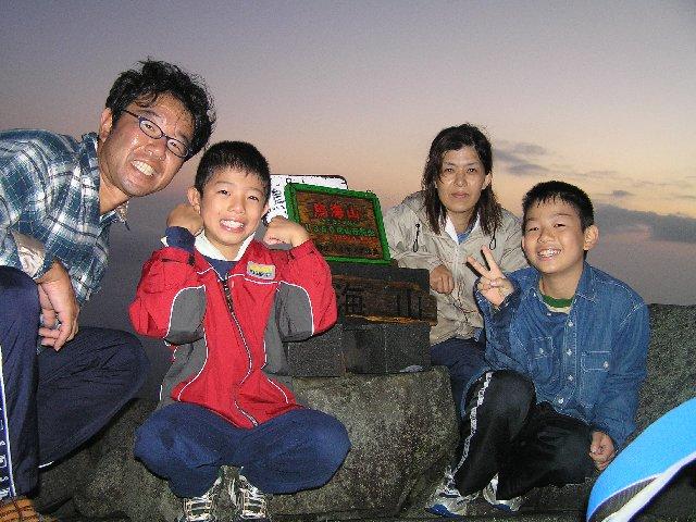 8月22日 鳥海山 山頂