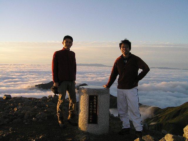 9月24日 朝日岳 山頂