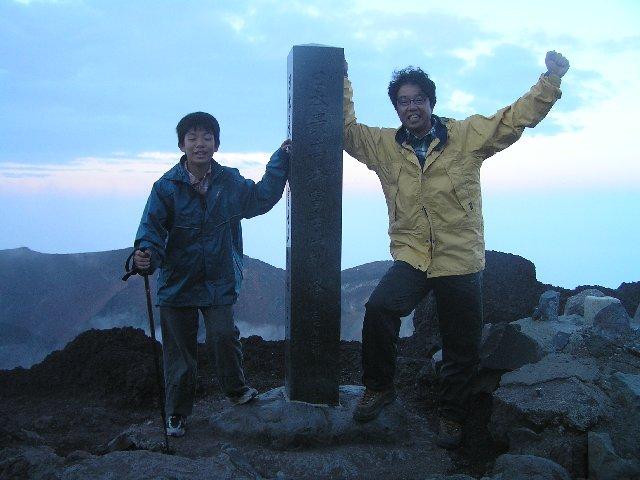 8月12日 富士山 山頂(剣ヶ峰)