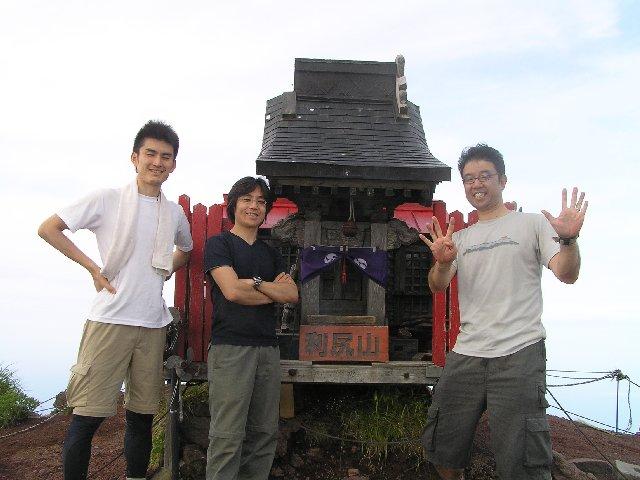 7月18日 利尻岳 山頂