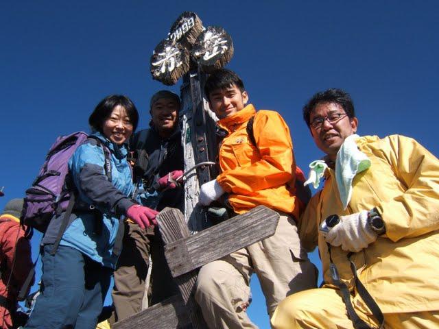 10月11日 八ヶ岳 山頂