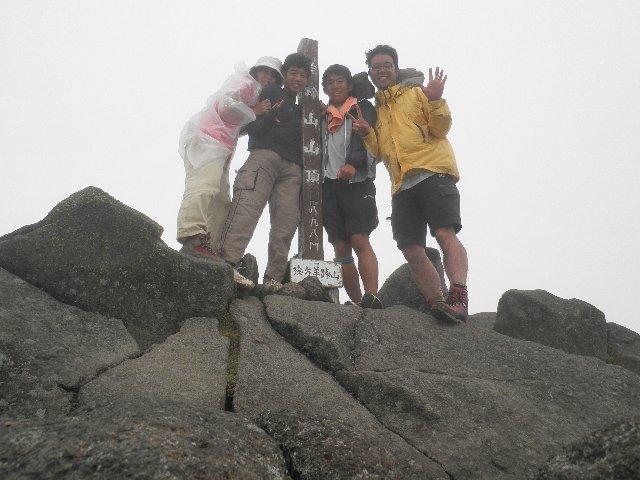 8月11日 羊蹄山(後方羊蹄山) 山頂