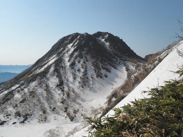大倉乗越から見た妙高山