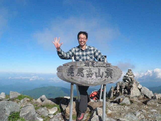 7月8日 幌尻岳 山頂