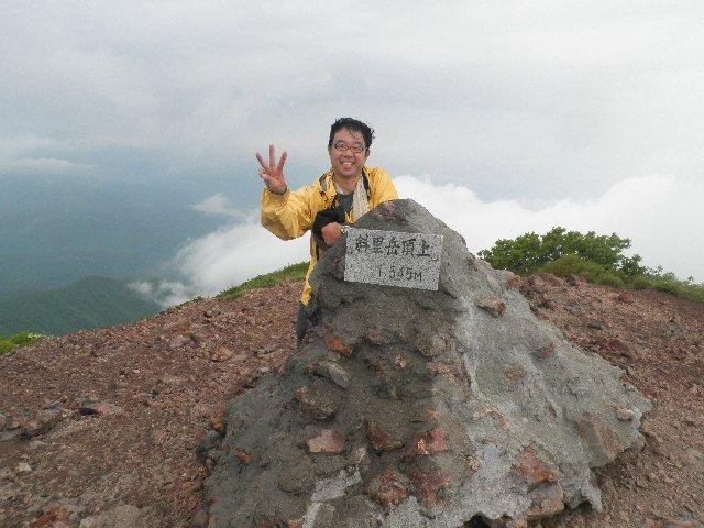 7月10日 斜里岳 山頂