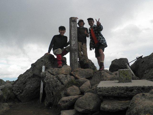 7月12日 トムラウシ山 山頂